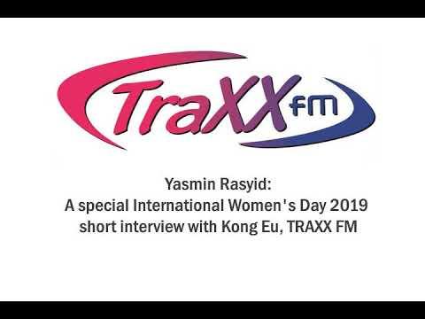 TRAXXFM – Yasmin: International Women's Day 2019 Interview