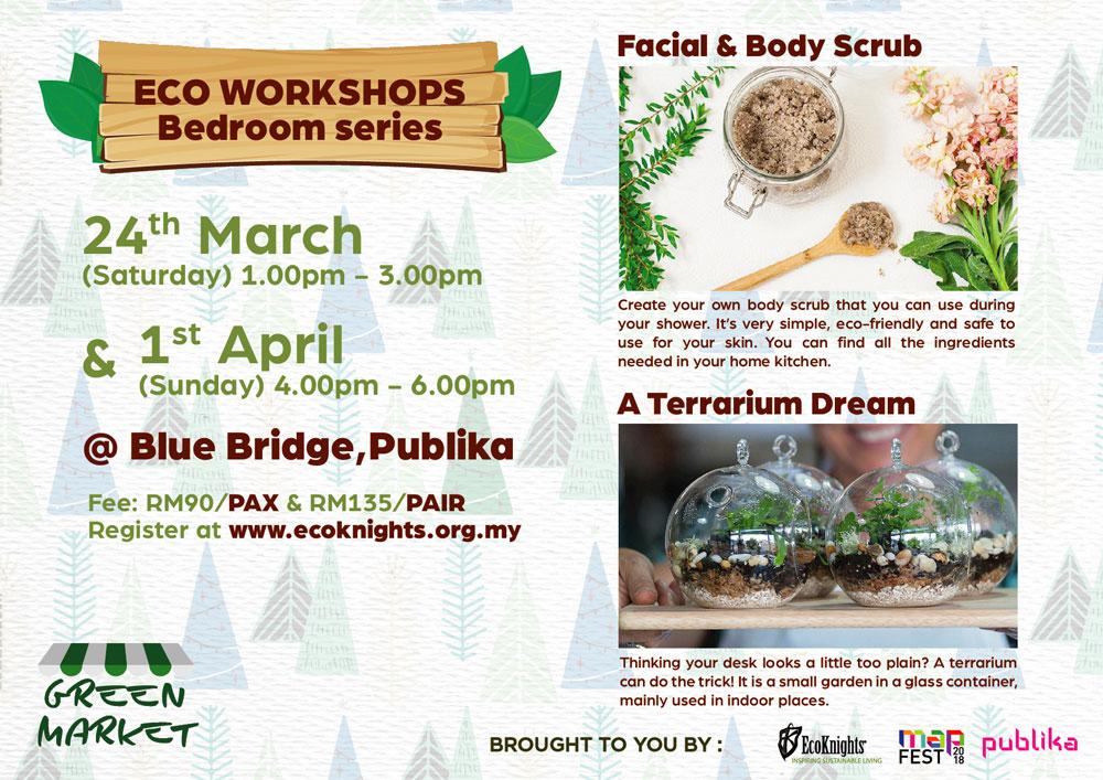Eco Workshops @ PUBLIKA EcoMonth & MAPFEST 2018