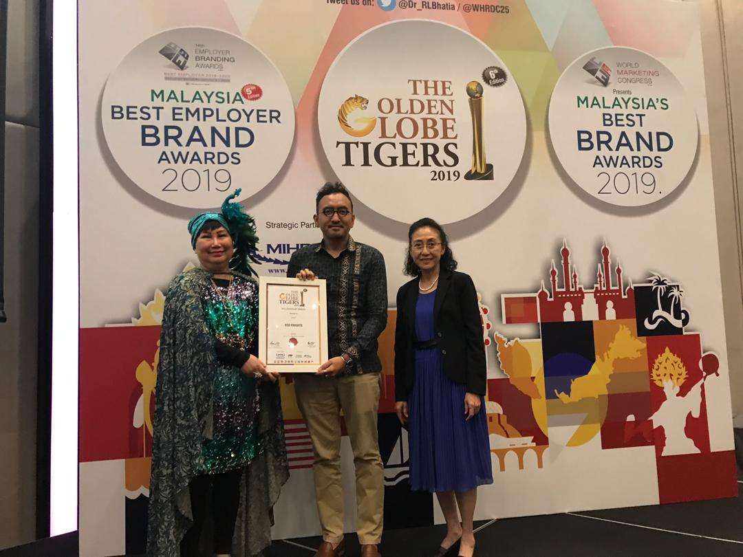 EcoKnights Received Recognition as NGO Leader
