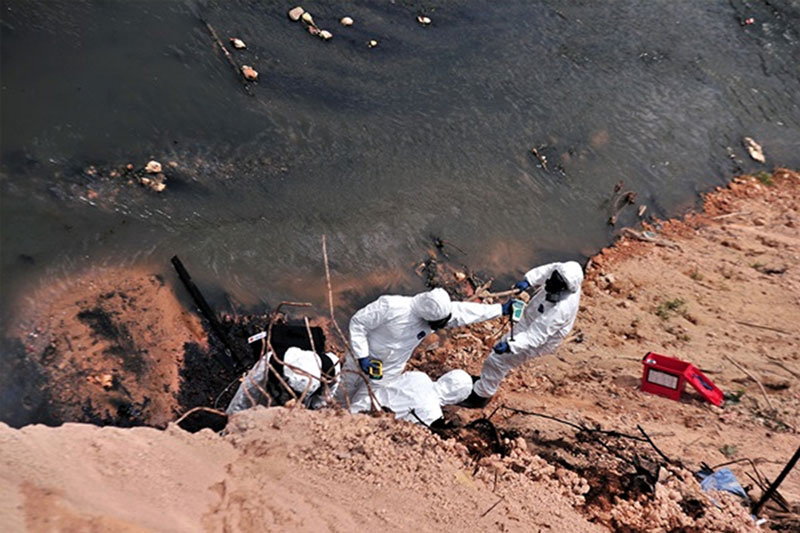Chemical pollution: Culprits must pay, says NGO