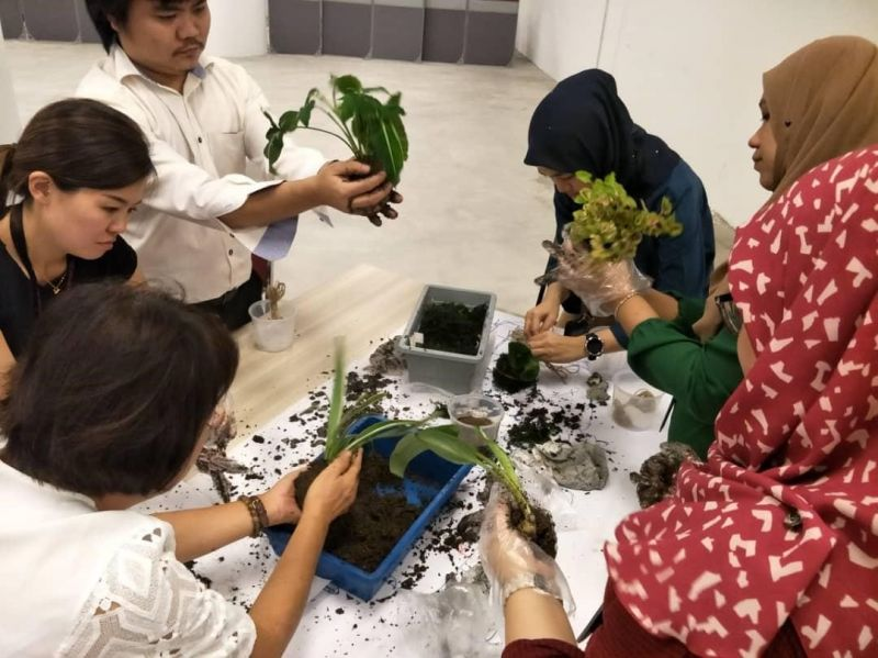 EcoKnights In Collaboration with Kenanga Investment Bank For Kenanga Earth Month Programme – Green At Work 2019