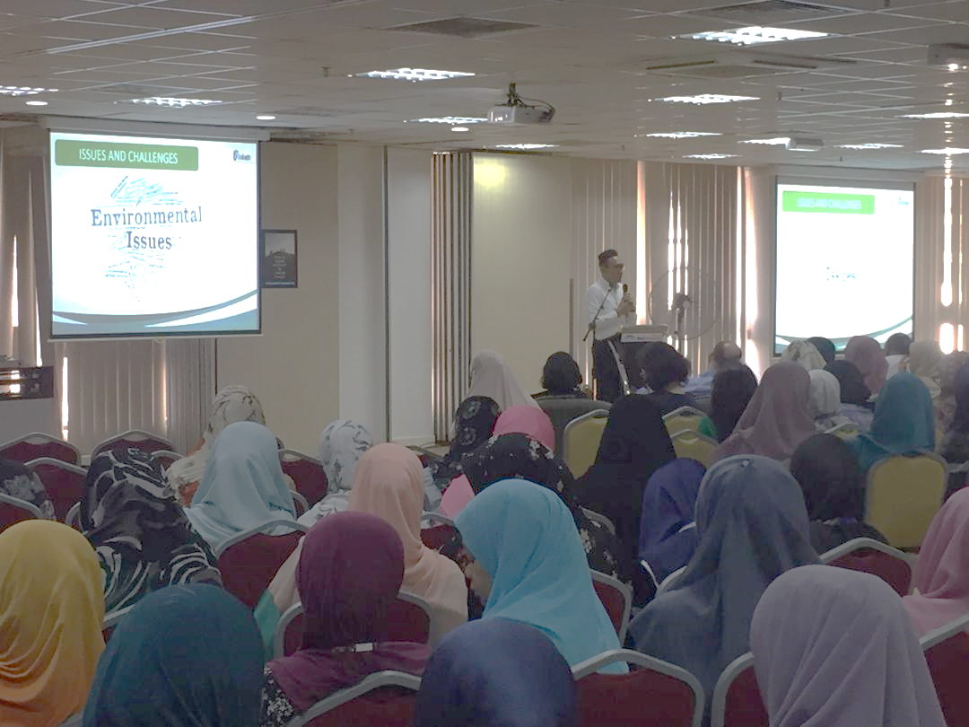 A Day of Sustainability Awareness Session at Bank Muamalat