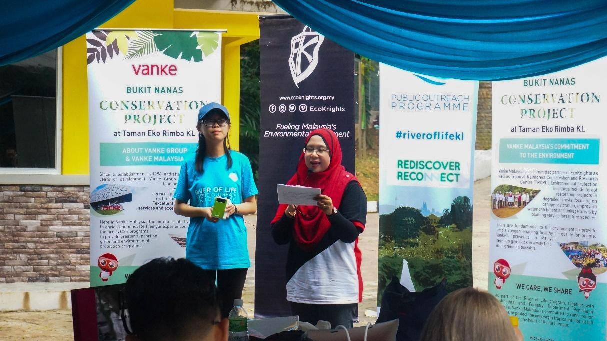 Hutan Simpan Bukit Nanas Conservation Project Launching At Taman Eco Rimba KL