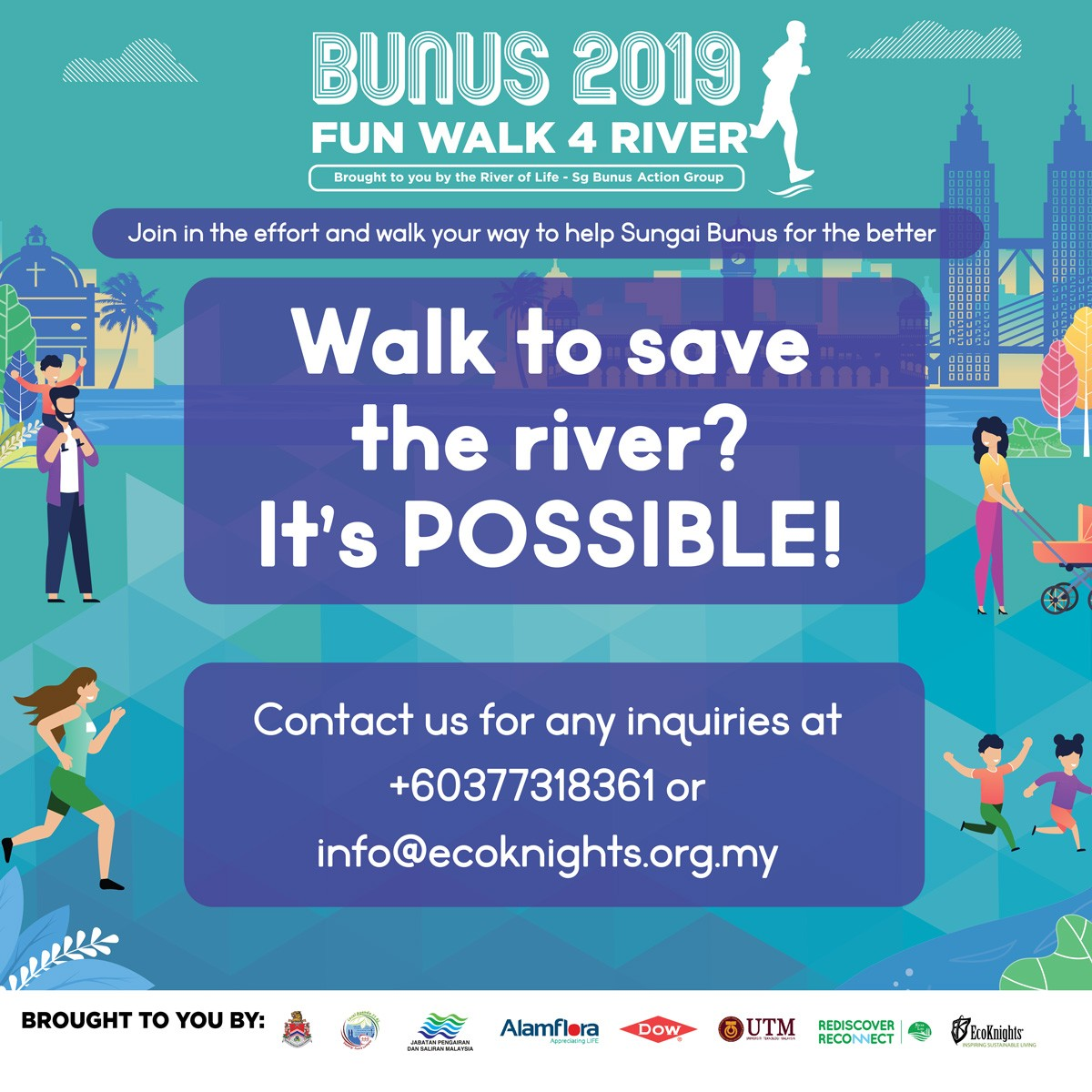 Bunus Fun Walk 4 River 2019