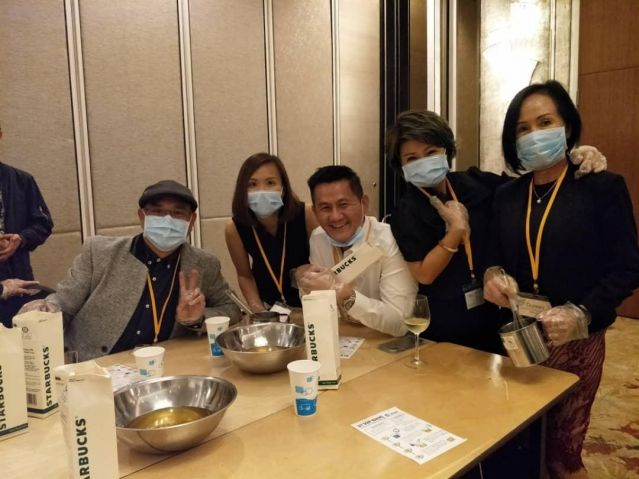 DIY Soap-making from Used Cooking Oil at Shangri-La Hotel