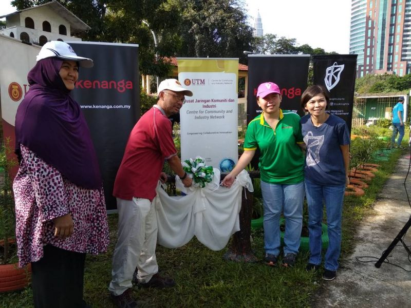 EcoKnights In Collaboration with Kenanga Investment Bank For Kenanga Earth Month Programme – Green At Work