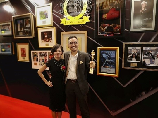 The Brand Laureate names Yasmin Rasyid, Founder and President of EcoKnights, Brand Influencer and Community Leader of the Year 2018