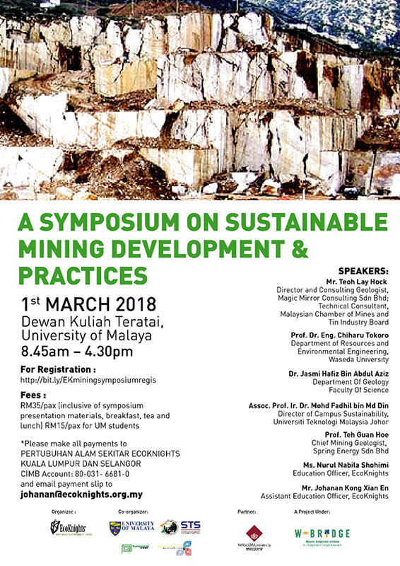 A Symposium on Sustainable Mining Development and Practices