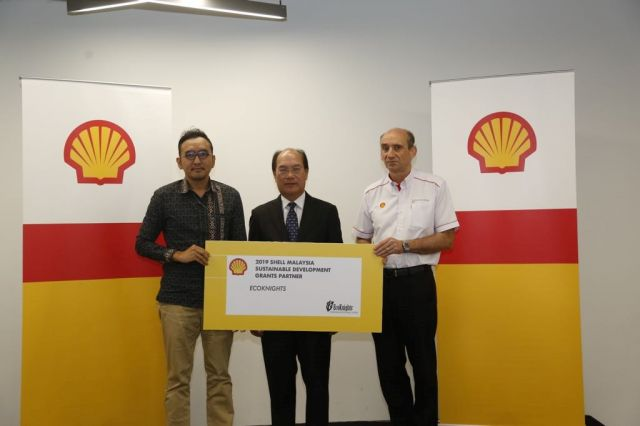 EcoKnights Received Sustainable Development Grants from Shell Malaysia