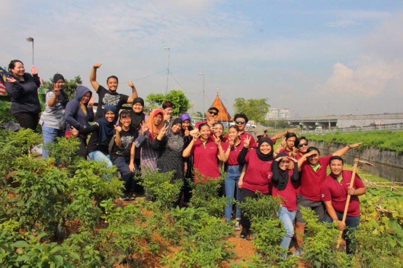 Starbucks Green Outreach Programme – Engaging In Community Edible Garden