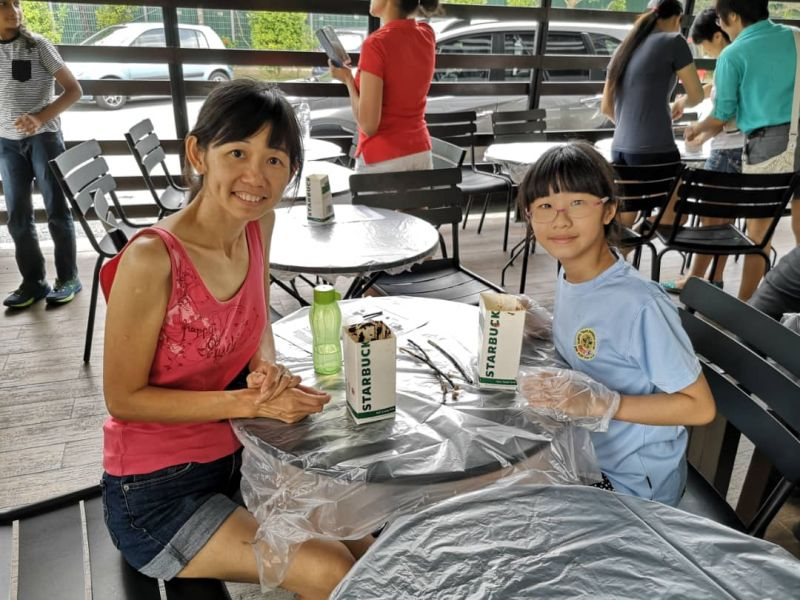 Starbucks X EcoKnights Green Outreach Program @ Starbucks Drive-Thru Kota Kemuning