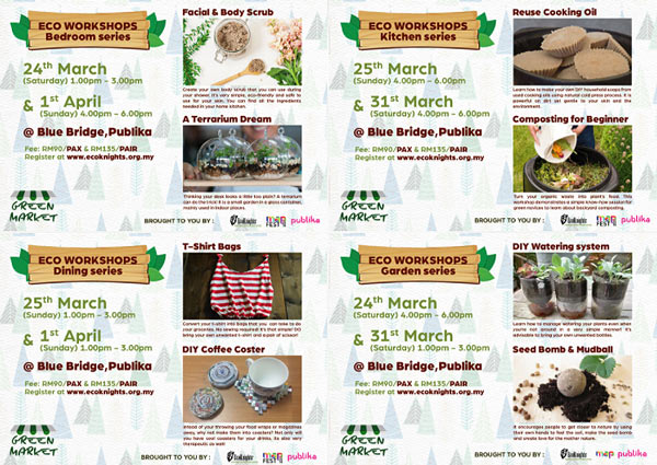 #EcoLifestyle Workshops: we have a SPECIAL Price just for you!