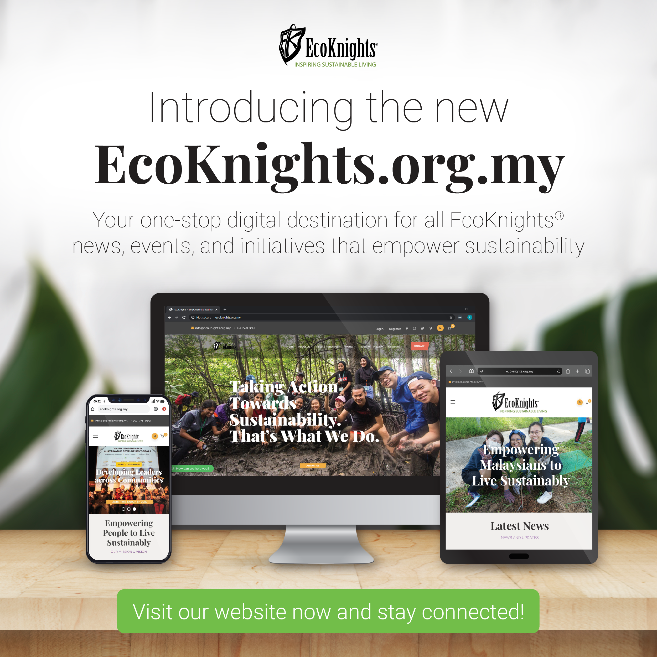 EcoKnights Enhances Digital Experience in Sustainability with Website Revamp