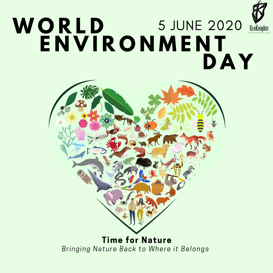 Spare YOUR Time for Nature on World Environment Day 2020