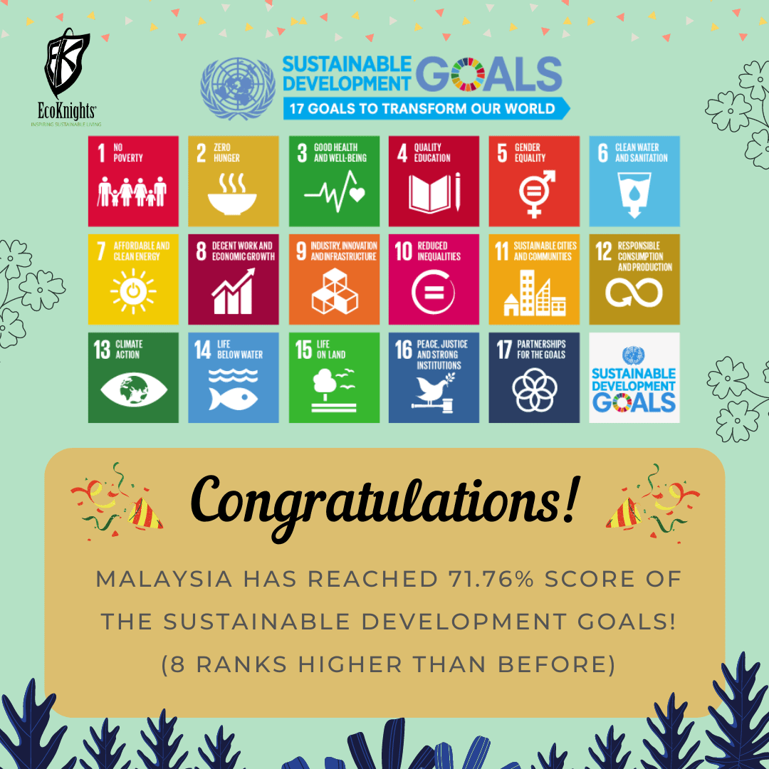 Malaysia is Climbing Upwards in Achieving 17 Sustainable Development Goals