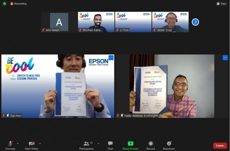 Epson Champions Sustainable Business Practices with Heat-Free Technology