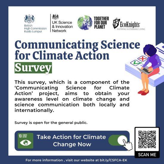 Communicating Science for Climate Action Survey – Public Perception Survey