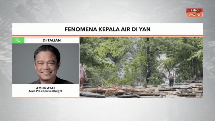 Amlir Ayat – Insiden Kepala Air | Fenomena kepala air di Yan, Kedah [ASTRO AWANI]