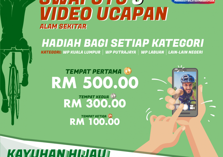 AMBIL SWAFOTO SERTA VIDEO DAN MENANG HADIAH MENARIK DI KAYUHAN HIJAU 2021!